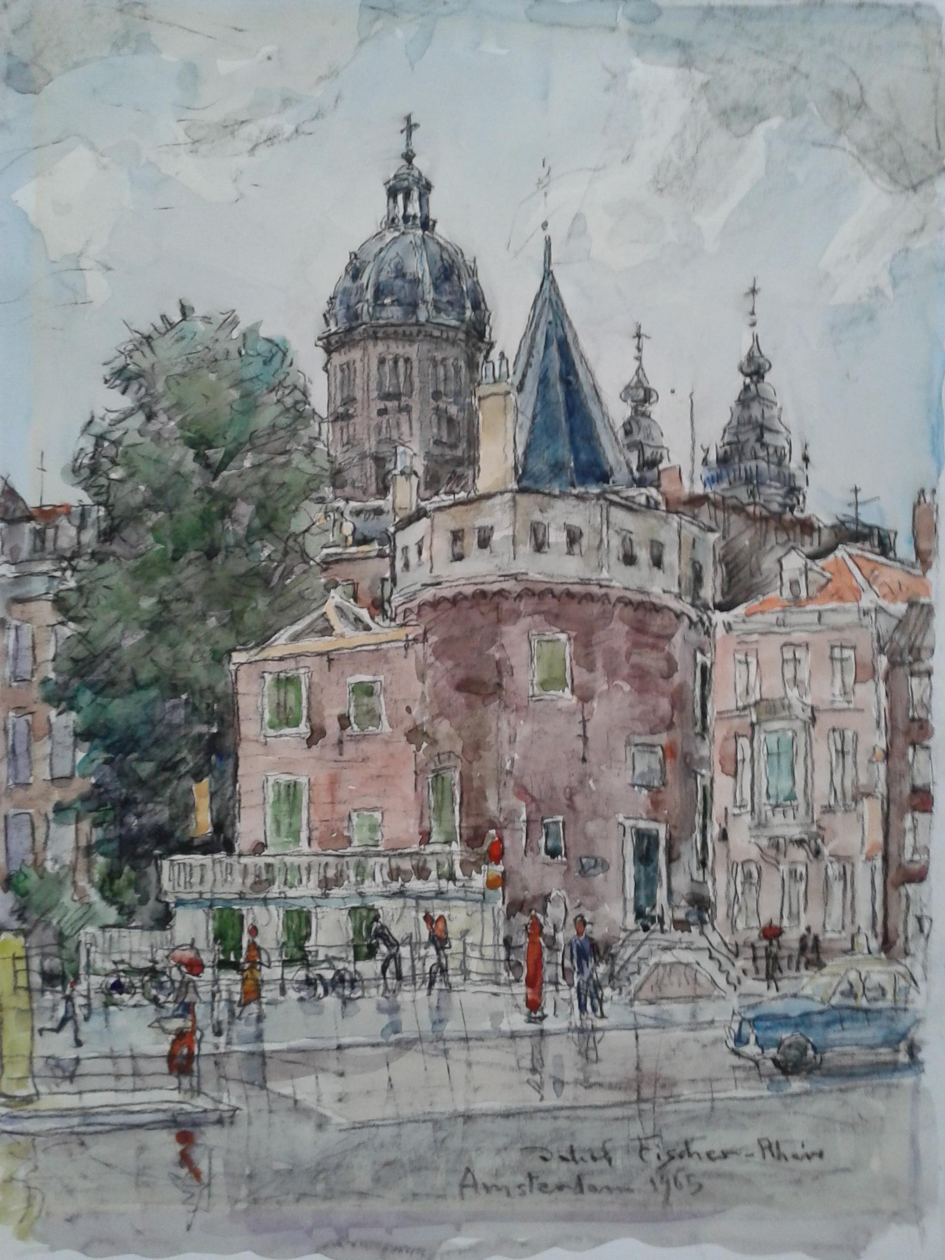 Amsterdam,1965, für vergrößerte Ansicht anklicken!