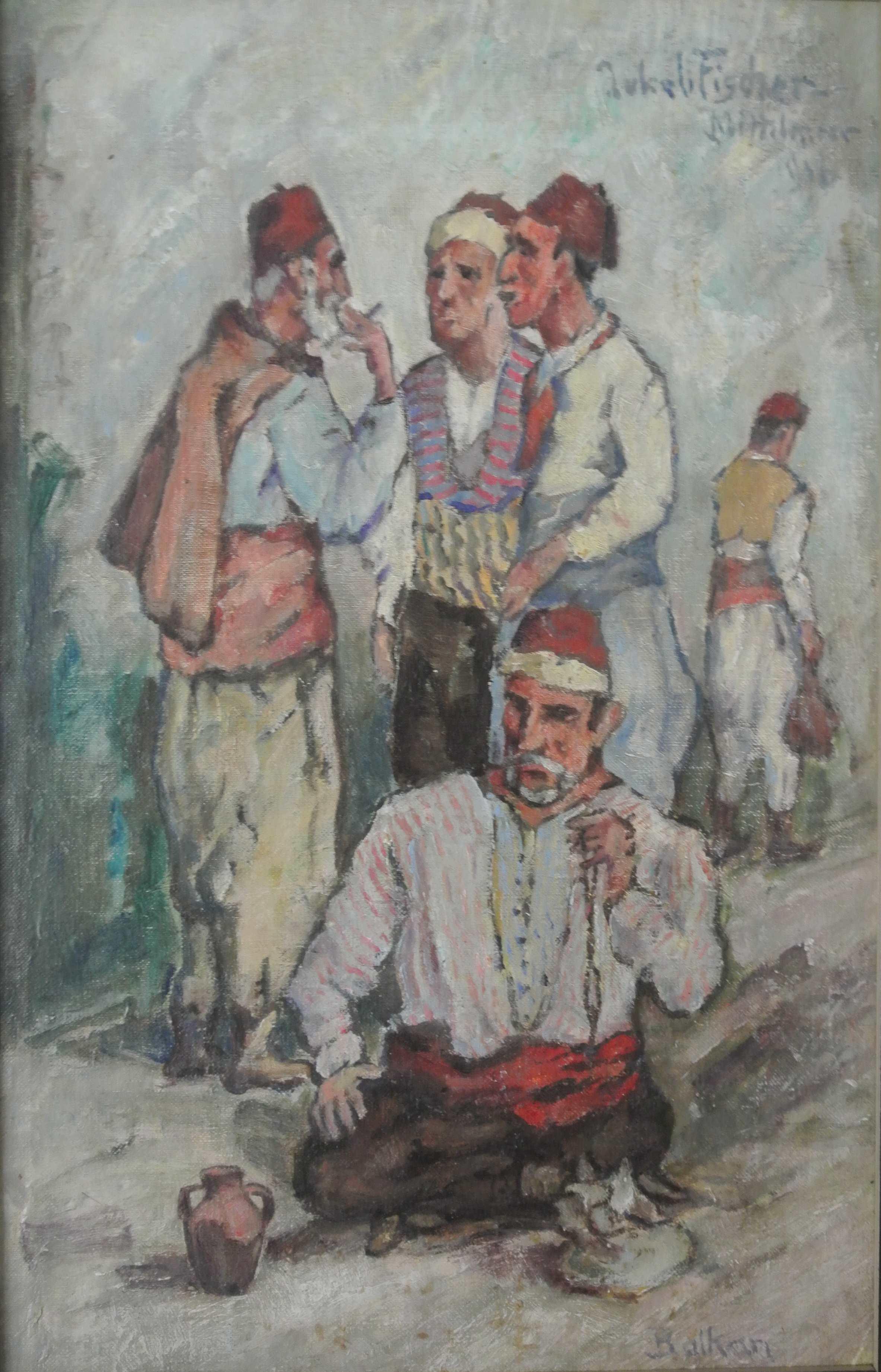 Balkan, Mittelmeer, 1916, für vergrößerte Ansicht anklicken!