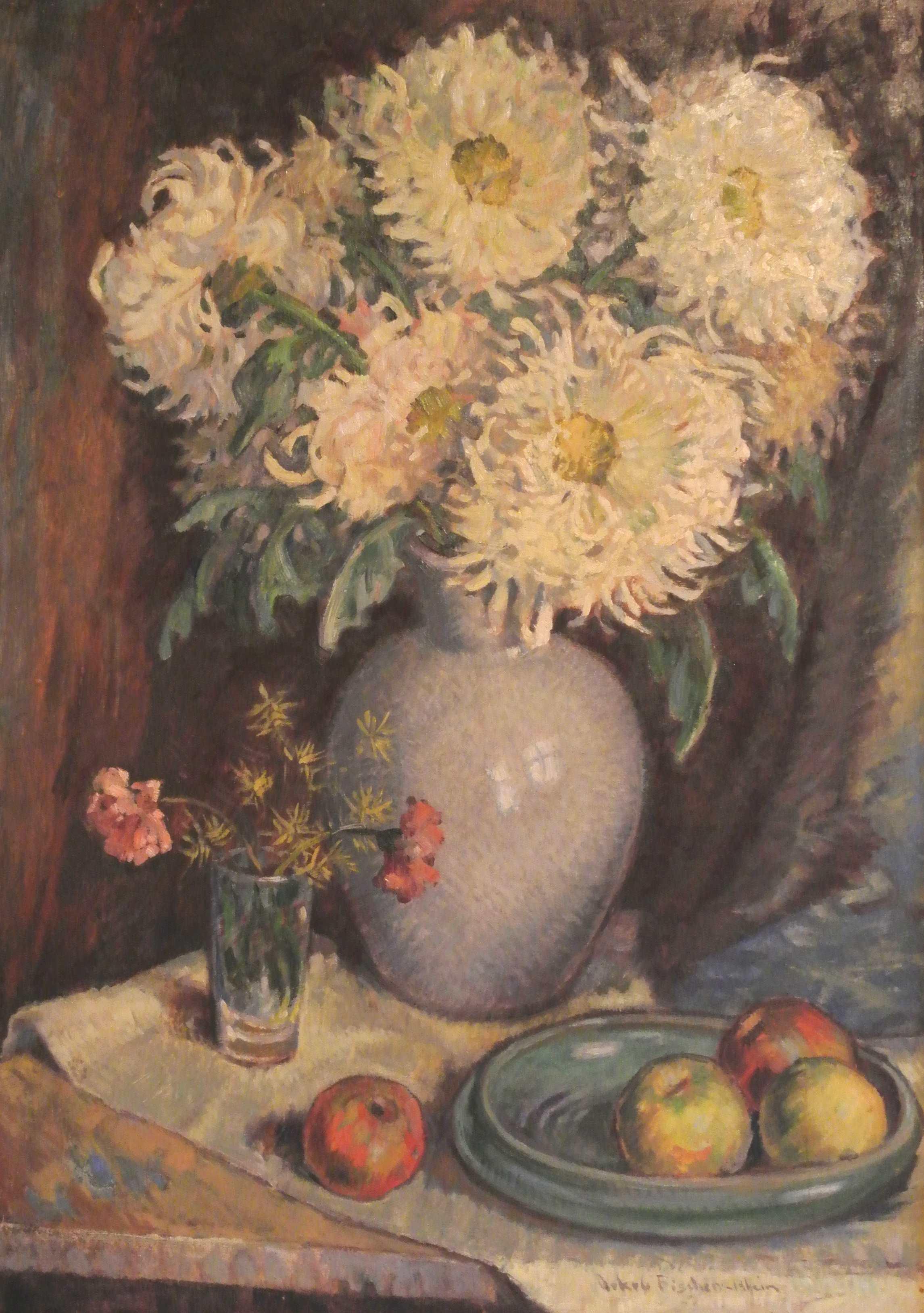 Blumenstilleben, ohne Jahr, für vergrößerte Ansicht anklicken!