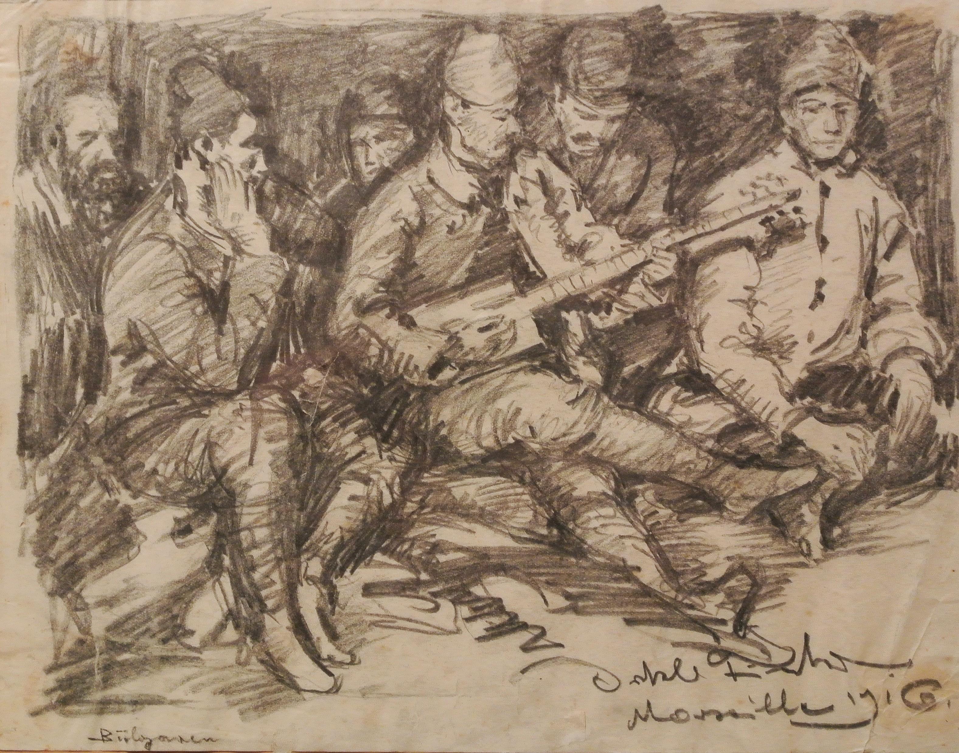 Bulgaren, Marseille 1916, für vergrößerte Ansicht anklicken!