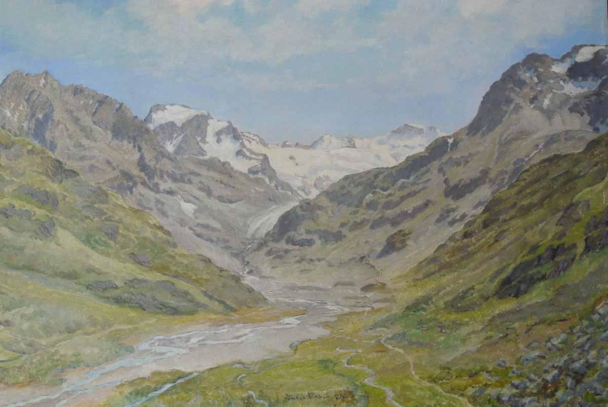 Hochgebirge, 1941, für vergrößerte Ansicht anklicken!