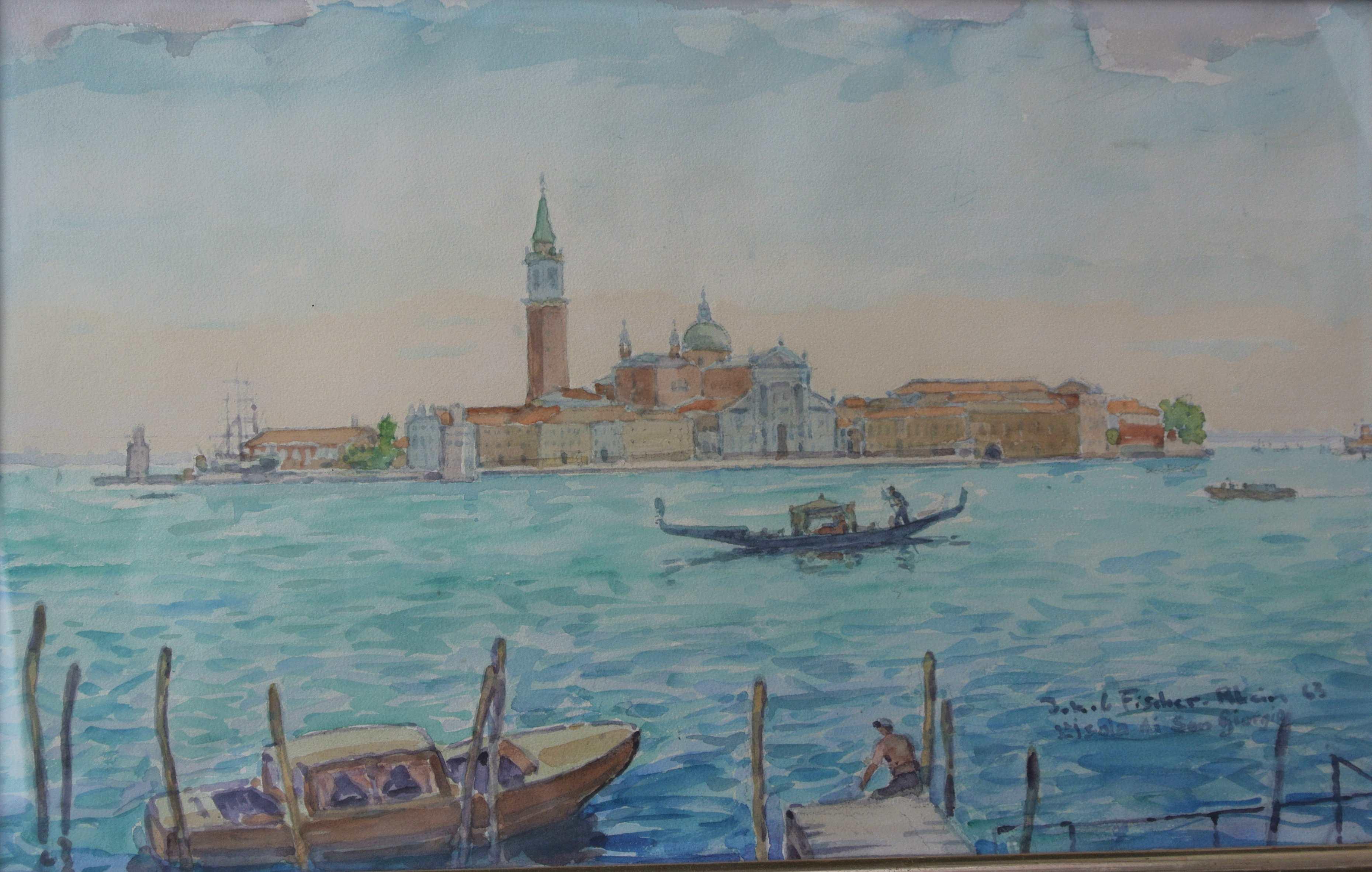 Isola di San Giogio, 1963, für vergrößerte Ansicht anklicken!
