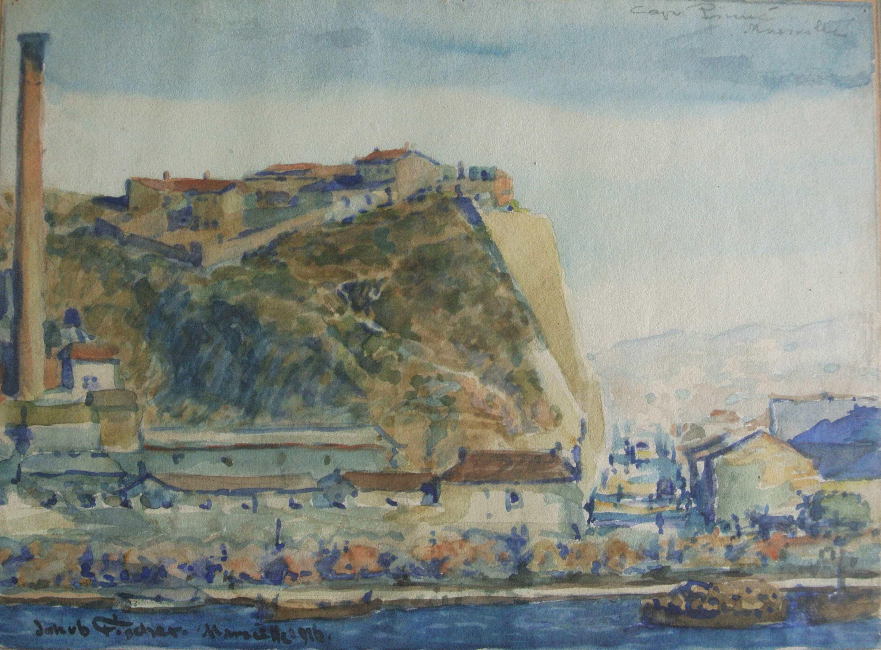 Marseille, 1916, für vergrößerte Ansicht anklicken!