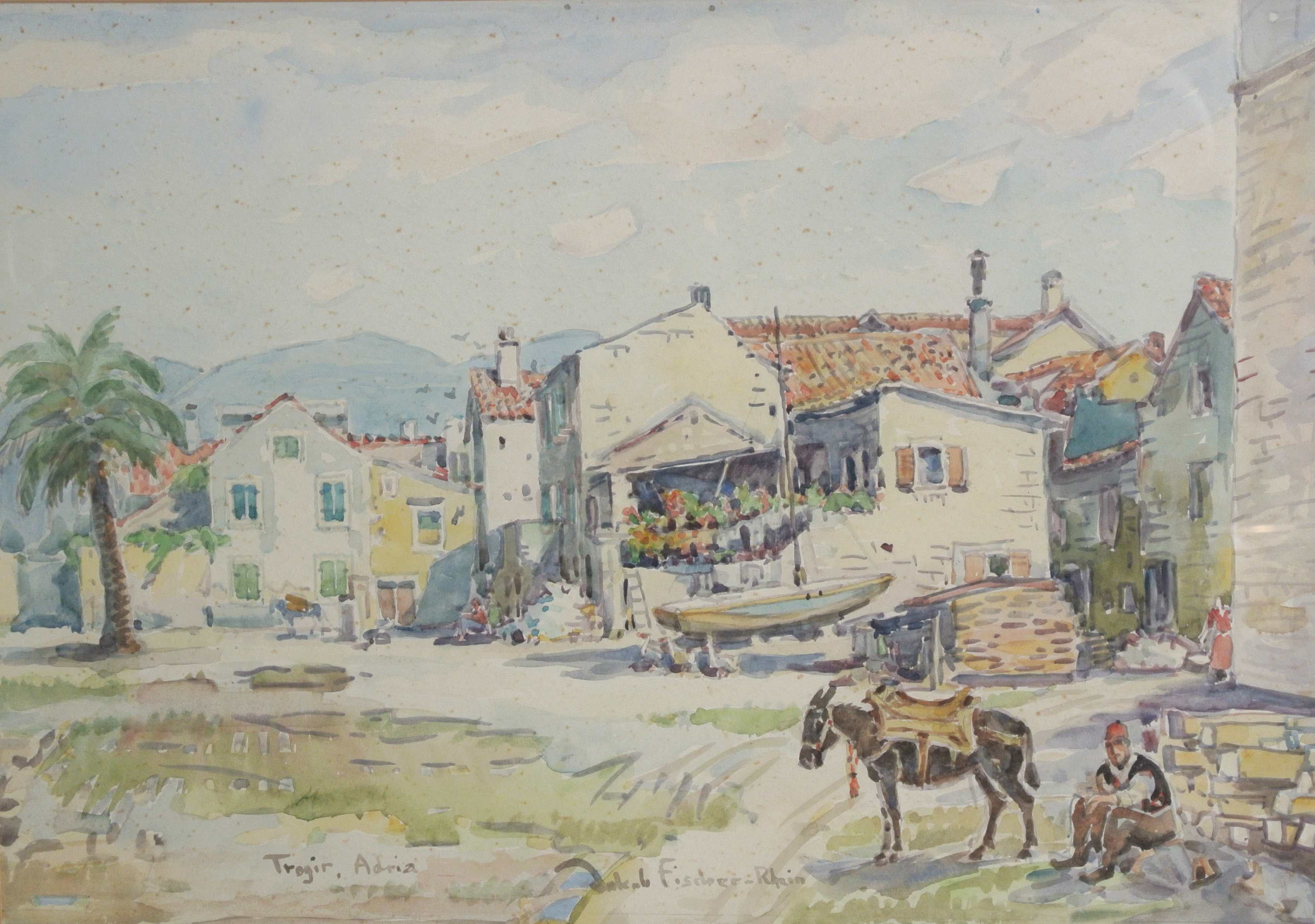 Trogir, Adria,Kroatien, ohne Jahr, für vergrößerte Ansicht anklicken!